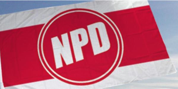 NPD Fahne